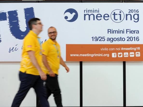 Il meeting di Rimini in corso fino al 25 agosto (Italy Photo press)