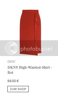 DKNY High-Waisted-Skirt