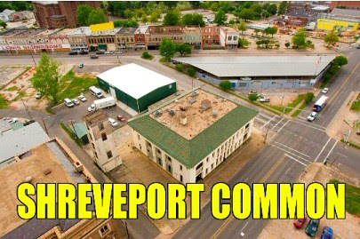 Shreveport Common, Central Arts Station in center by trudeau