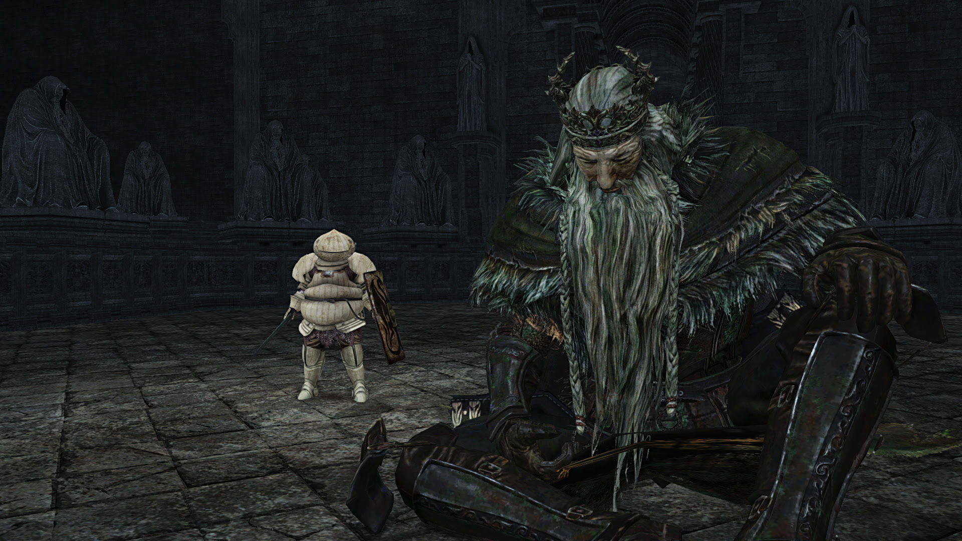 Dark Souls 2 Crown Of The Old Iron King Walkthrough Guide Part 2