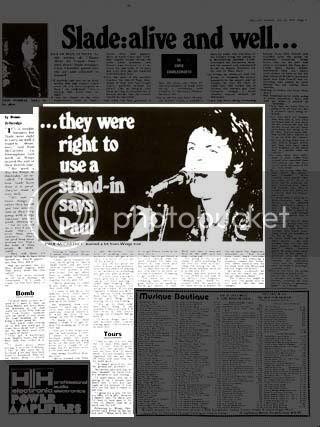 Melody Maker July 14th 1973 page 3