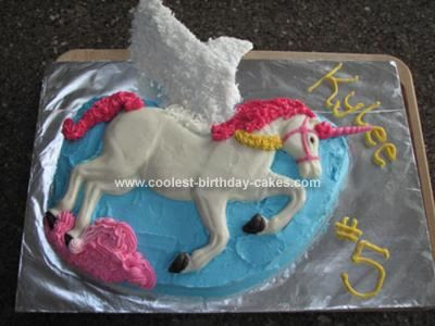 Unicorn Birthday Cake Homemade