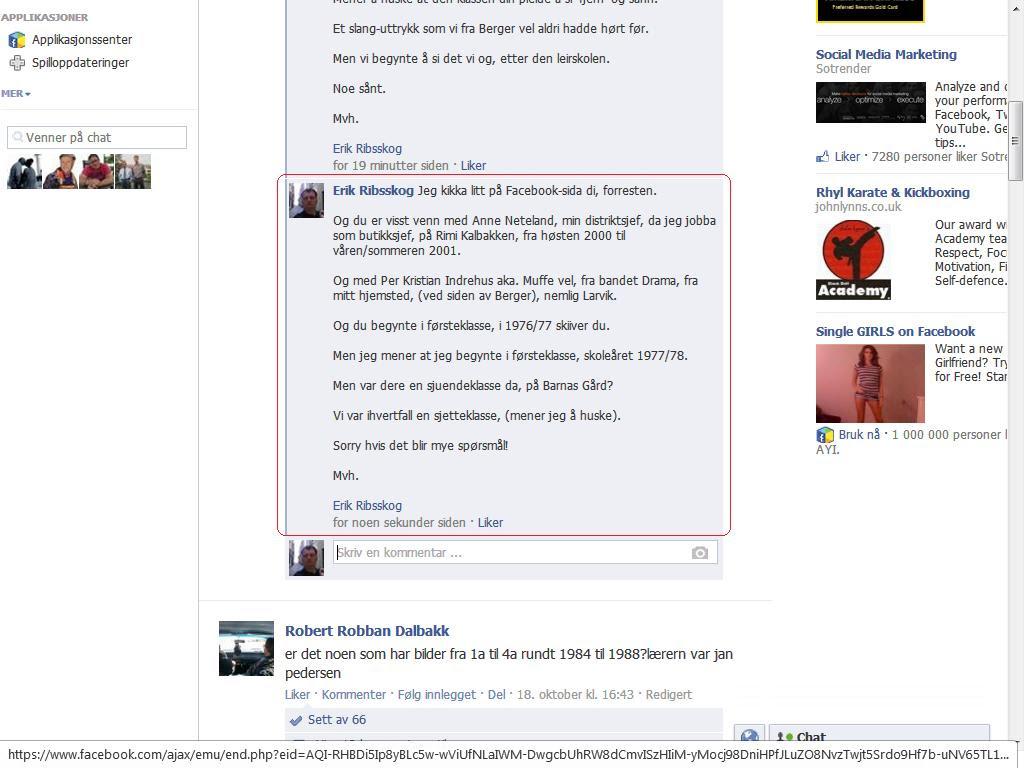 facebook neteland muffe