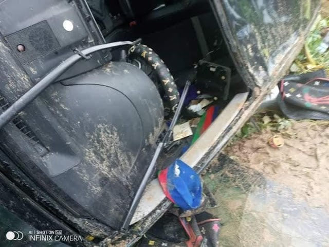 BREAKING: Ijaw Youth Council President Narrowly Escapes Death In Auto Crash