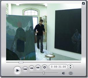 Raphael Egli im Atelier