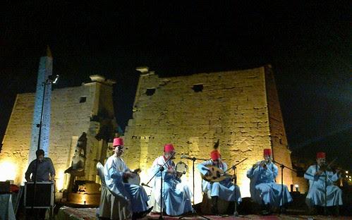 Luxor temple banquet by ibischild