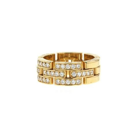 Cartier Maillon Panthère Ring 333902   Collector Square