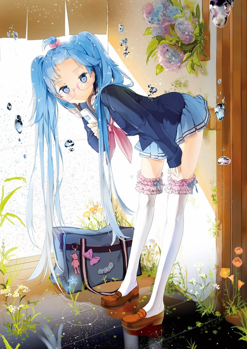 anime hatsune miku nerdy girl back to school picture phi stars