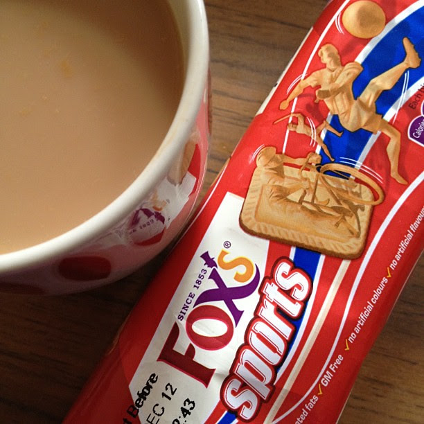 #tea & #biscuits we used to share one pack between 4 of us and loved looking at the pictures on each one. Great memories!