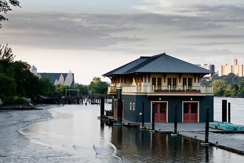 Boat House at Swindler Cove