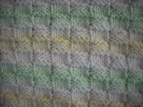 Sprog's blanket close up