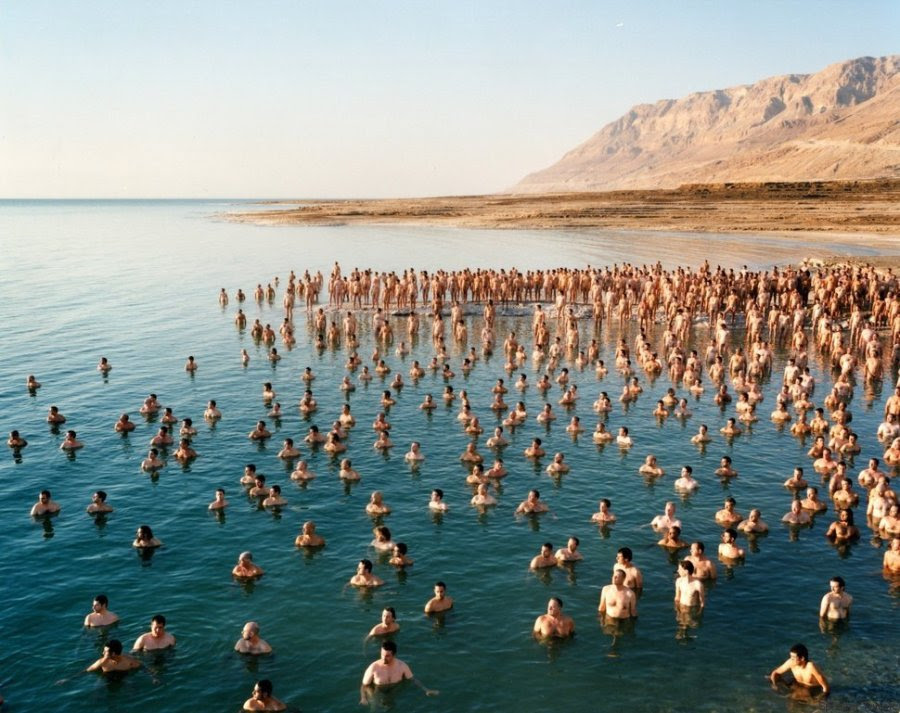 spencer tunick dead sea 2011