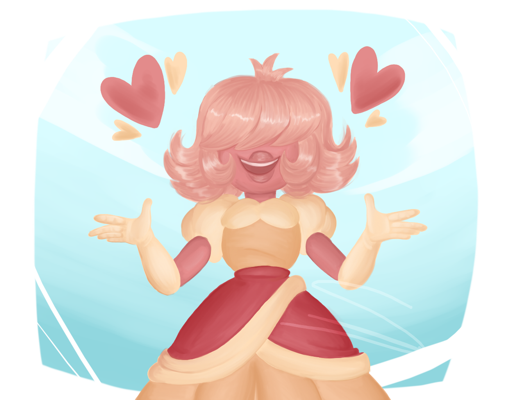 I've been wanting to draw this cutie for a while! Padparadsha belongs to Steven Universe/Rebecca Sugar