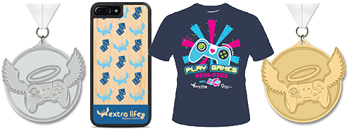 Extra Life Swag