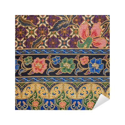 batik patterns sticker pixers    change