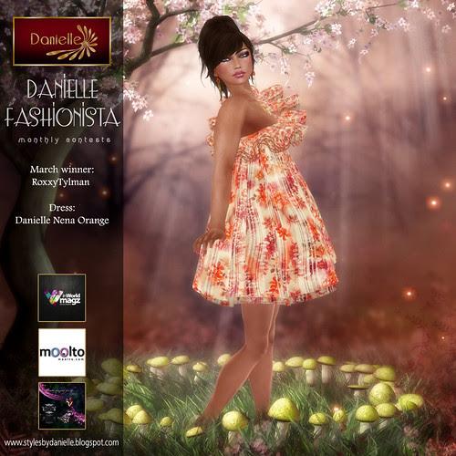 Danielle Fashionista Winner for March 2012