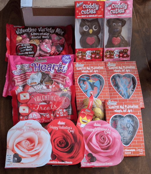 Valentine Candy Giveaway