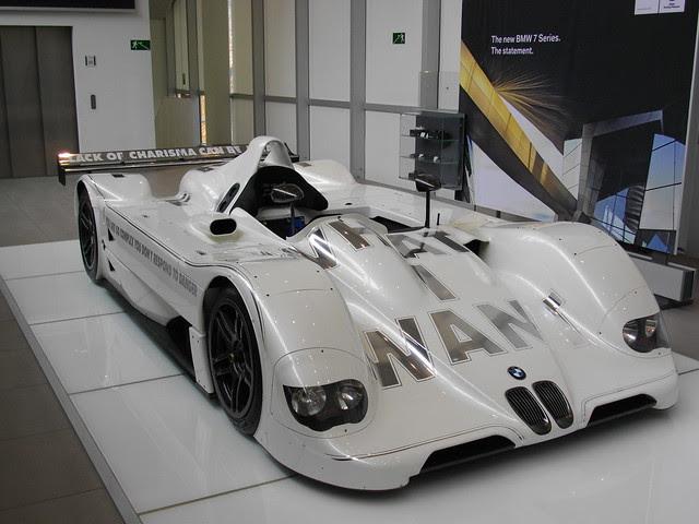 BMW V12 LMR - Jenny Holzer Art Car