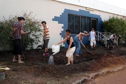 Malak community garden.1