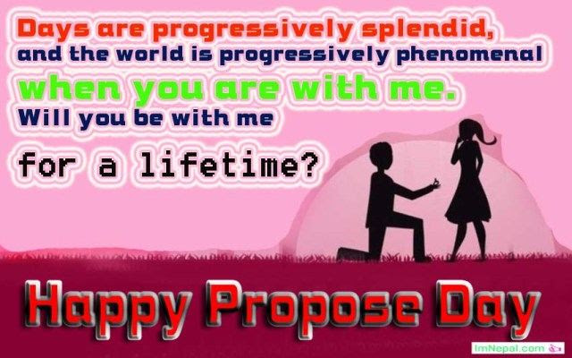 Happy Propose Day Messages For Girlfriend From Boyfriend In English
