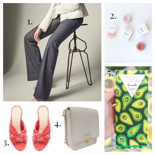 Massimo Dutti Trousers - Herbivore Botanicals Lip Care - Loeffler Randall Slides - Flight 001 Crossbody - Compartes Chocolate