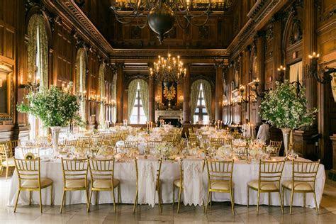 Elegant Gold and White Wedding   Elizabeth Anne Designs