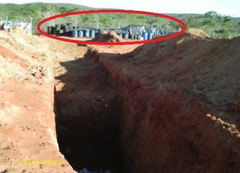 Resultado de imagem para resíduos do Urânio em Caetitê na Bahia