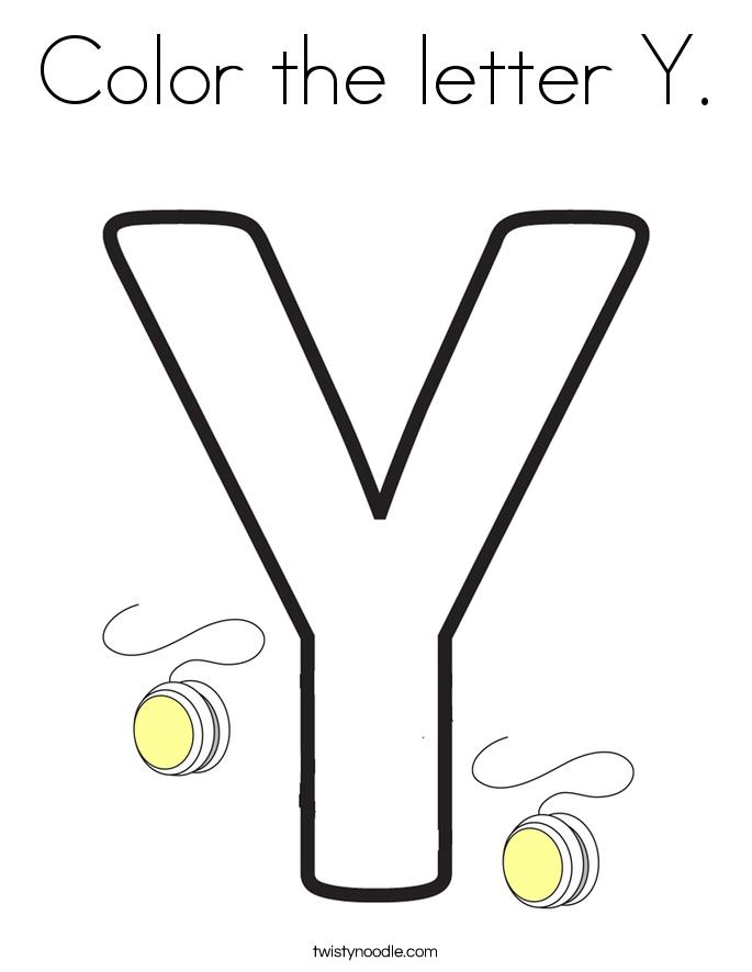 Letter Yy Gallery