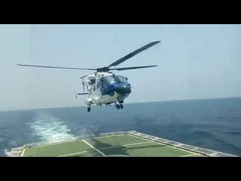 WATCH: India's Indigenous Dhruv MK-III Chopper Successfully Demonstrates Deck-Operations Capabilities