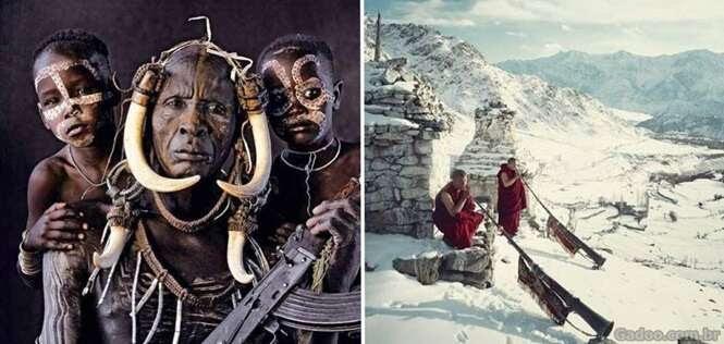Fotos fantásticas das tribos mais incríveis do planeta