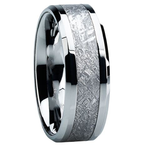 meteorite wedding bands mens wedding bands