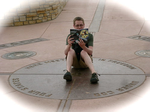 Mr. Schu Reads in Utah, Colorado, New Mexico, and Arizona at the Same Time