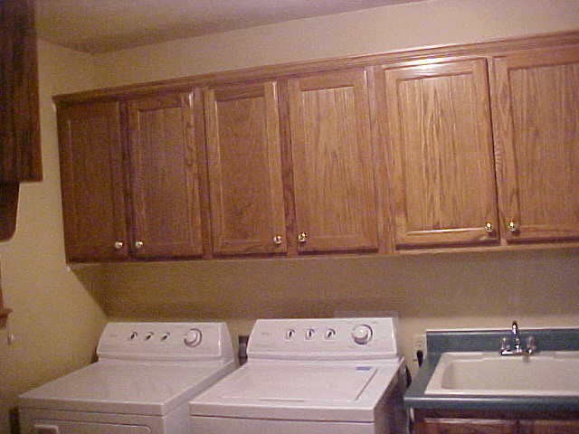 Custom Utility and Laundry Room Cabinets | Charles R. Bailey ...