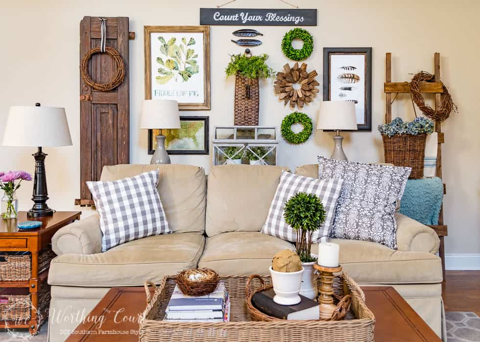 The Evolution Of My Family Room - From Major Traditional ...