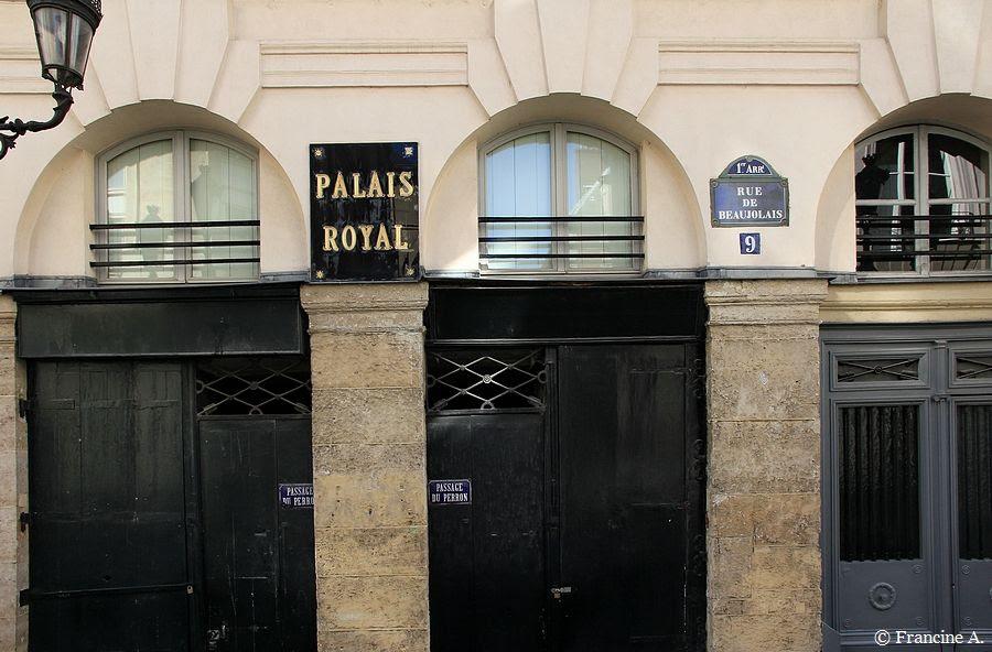 Palais Royal La Fenêtre De Colette Paris Autrement