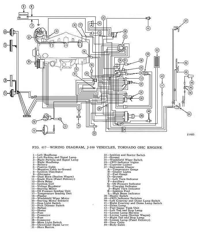 62 Chevy Truck Wiring Diagram