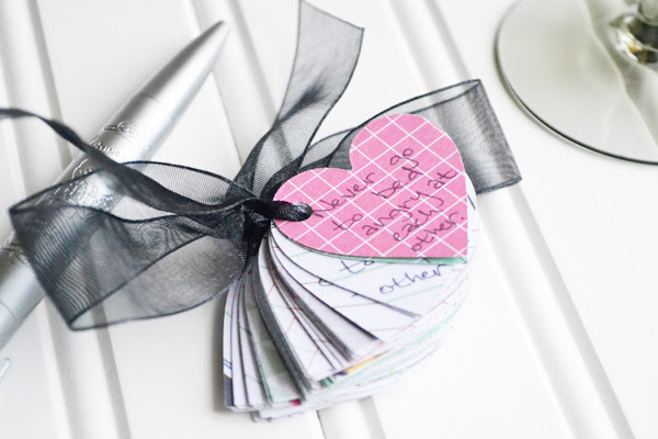 We R DIY Wedding Advice Cards by Aly Dosdall_booklet