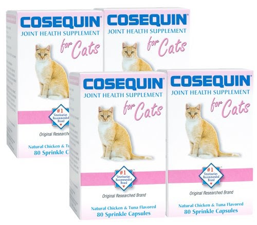 review nutramax cosequin for cats 4 pack cat bone and joint health supple. Black Bedroom Furniture Sets. Home Design Ideas