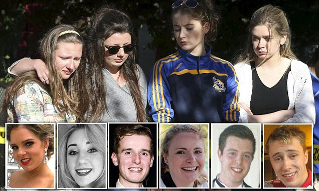 Berkeley balcony collapse victims, 5 Irish students and 1 American, pictured