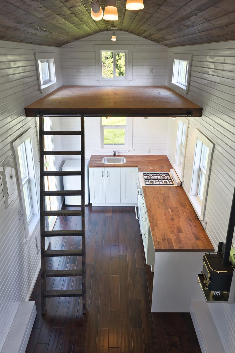 The Loft  Tiny House Swoon