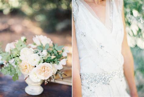 garden wedding inspiration centerpiece yellow white