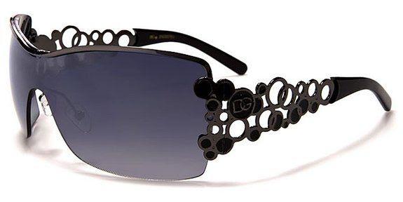 Dg Eyewear Black Womens Designer Tennis Sunglasses Tenis Gafas De Sol
