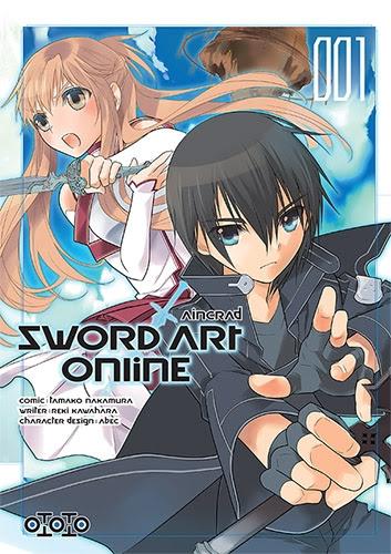 Couverture Sword Art Online : Aincrad, tome 1