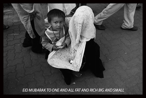 Eid Mubarak.. Another Happy Day For The Beggars of Mumbai by firoze shakir photographerno1