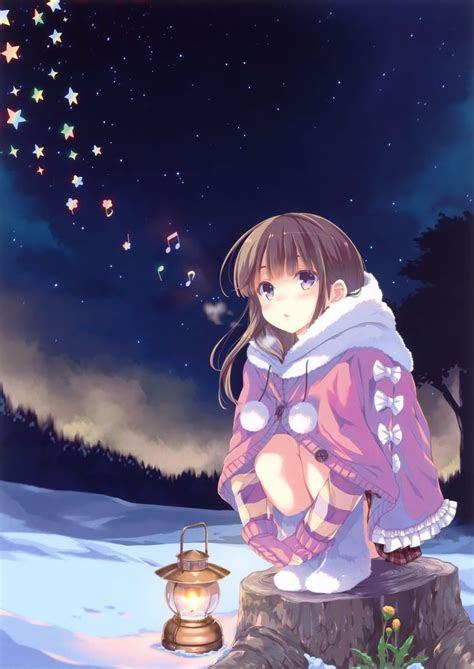 christmas anime girl christmas anime pinterest anime