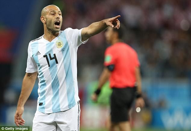 It has been reported the Argentina players will select their team for their clash with Nigeria