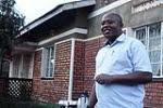 Mpirirwe Simpson welcoming us in his home