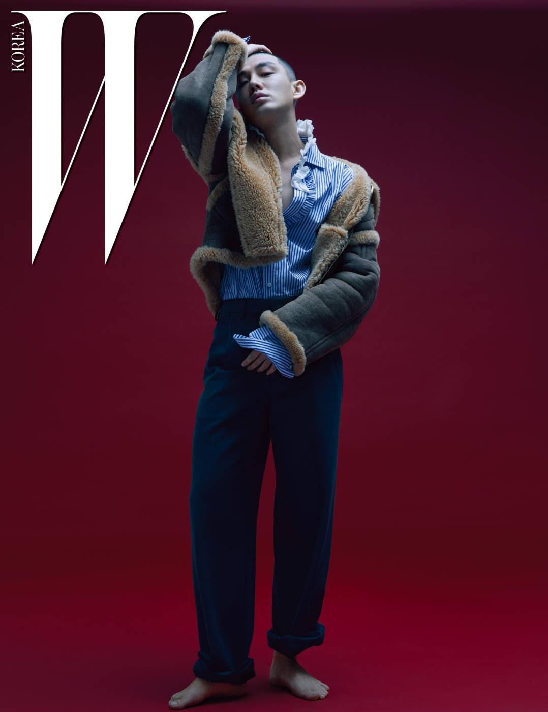 Yoo Ah In - W Magazine January Issue '17