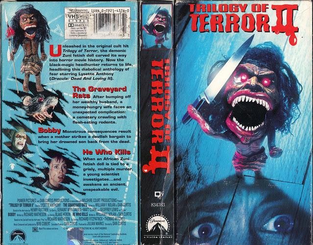 TRILOGY OF TERROR 2 (VHS Box Art)
