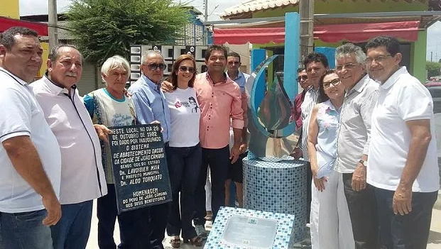 João Câmara: Prefeitura inaugura novo 'Marco da Inauguração da Água'.